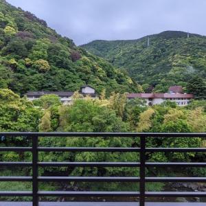 箱根湯本に宿泊中
