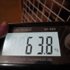 恒例の体重測定(ヴァルム君6歳4ヵ月)~減った~!!