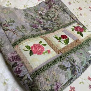 恩田教室☆薔薇刺繍バッグ、マリナーズコンパス