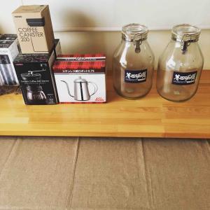 今週分のコーヒー豆は完売しました。