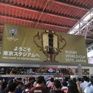 ラグビーワールドカップ開幕。日本対ロシア