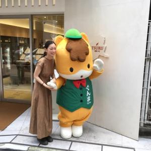 ぐんまちゃん家1周年、阿久津ゆりえさん来店