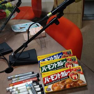豚肉生姜焼きのお弁当とラジオ出演