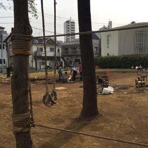池袋プレーパークは子どものドロンコ遊びに最適なスポット