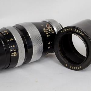 田中光学 テレタナー 13.5cm F3.5 望遠レンズを試写♪