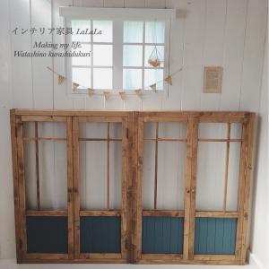 【オーダー完成】既存の窓枠に、スッポリはめ込み窓枠。