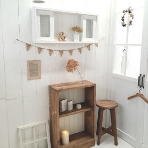【shopに追加しました】飾り棚で、ワンランク上のおウチ時間♪