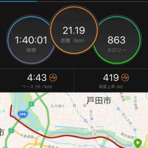 【結果】赤羽ハーフ