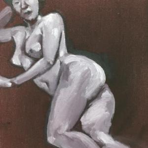 Nude-Muse-angel-Tableau-ヌード-芸術-アート-絵画:暦の上では