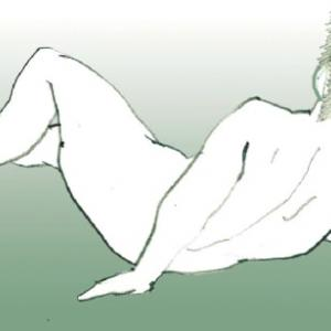 Nude-Muse-angel-Tableau-ヌード-芸術-アート-絵画:昼寝