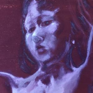 Nude-Muse-angel-Tableau-ヌード-芸術-アート-絵画:降臨