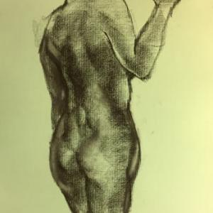 Nude-Muse-angel-Tableau-ヌード-芸術-アート-絵画:おひとついかが