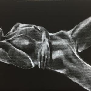 Nude-Muse-angel-Tableau-ヌード-芸術-アート-絵画:近未来スーツ