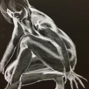 Nude-Muse-angel-Tableau-ヌード-芸術-アート-絵画:スタートアップ