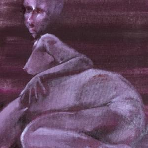 Nude-Muse-angel-Tableau-ヌード-芸術-アート-絵画:バックアタック