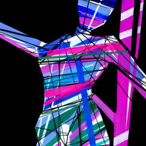 You can dance freely in the abstract space