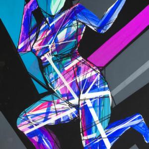 Dance in the abstract world