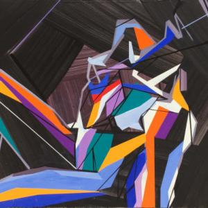 Draw and sing your thoughts in an abstract space