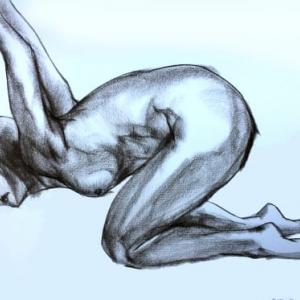 You with a flexible body will pose to me at will