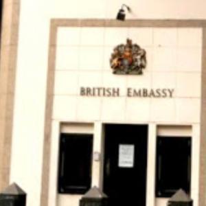 イギリス大使館パーティーでのベリーダンスショー