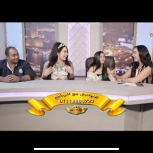 エジプト全国放送マスルエルハヤーTVのスターのニュースコーナーに出演