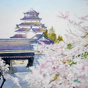 歴史が蘇る名城 鶴ヶ城と桜