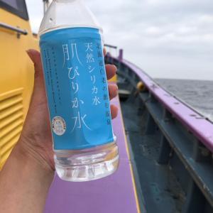 船釣りの必需品は水!