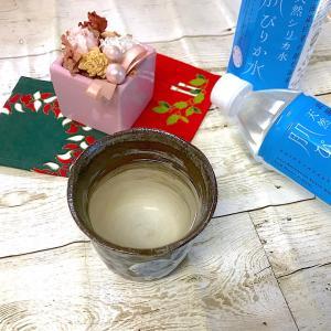 朝に白湯を飲み始めました!