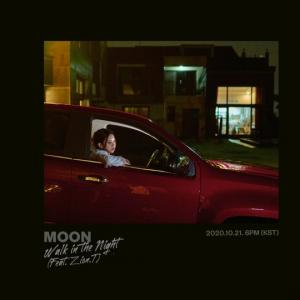 MOON「Walk In The Night(밤거리)」 (Feat. Zion.T)