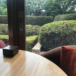ハイアットリージェンシーのカフェのウィークエンドブッフェに便乗しました。