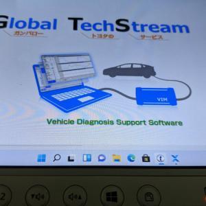 TechStream v16.20.023 Win11にて動作確認