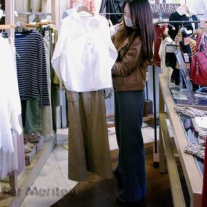 三次市/R&Fクレールのファッション日時計☆人気の4月入学式のスーツ&春のはおりと白シャツ!!