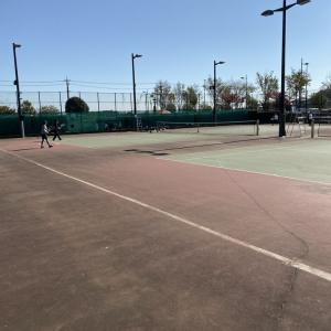 久しぶりのテニスです!