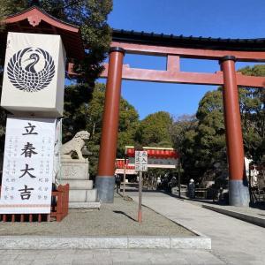 平塚八幡宮 初詣!