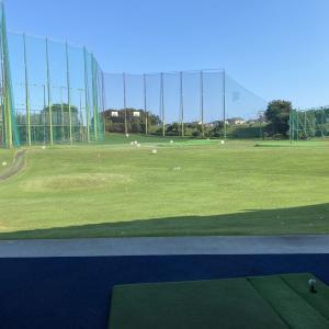 又々ゴルフ練習です!