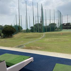 ゴルフの練習に行って来ました!