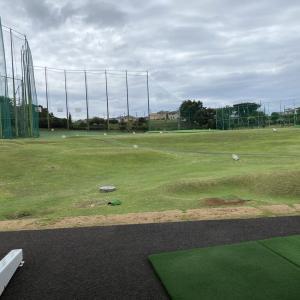 連チャンでゴルフ練習です!
