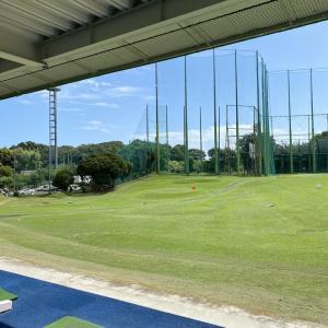 ゴルフ練習に行って来ました!