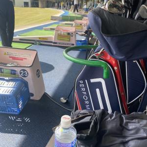 何時ものゴルフ練習です!