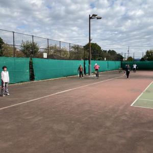 テニス教室でした!
