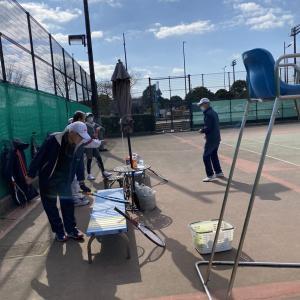 テニス連チャンです!