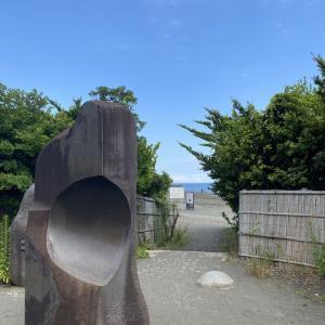 平塚海岸 散歩!