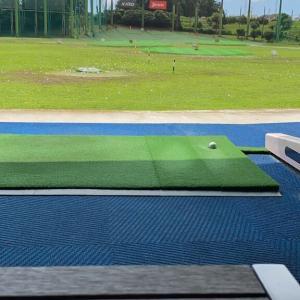 ゴルフ練習です!