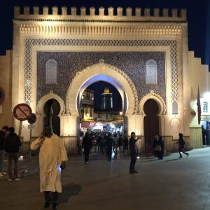 メルズーガからタクシーチャーターで迷宮都市フェズ到着:モロッコ旅行記⑧