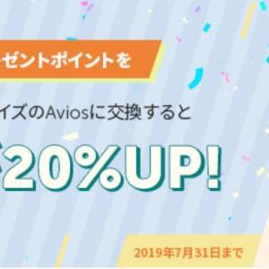 【交換率72%】三井住友でAvios20%増量ボーナスキャンペーンがひっそり開催