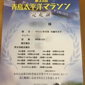 【速報】青島太平洋マラソン