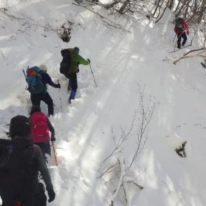 2020年2月11日(火) 雪と霧氷の稲村ヶ岳