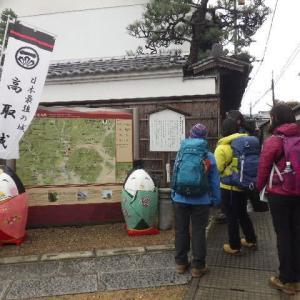2020年3月1日(日) 高取城址でテントの練習 町家の雛めぐりは延期