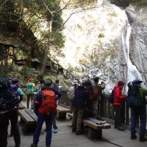2020年3月15日(日) 摩耶山・地蔵谷ルートで登り、杣谷ルートで下山