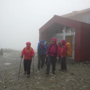 2021年9月4日(土)~5日(日) 木曽駒ケ岳で山小屋宿泊体験
